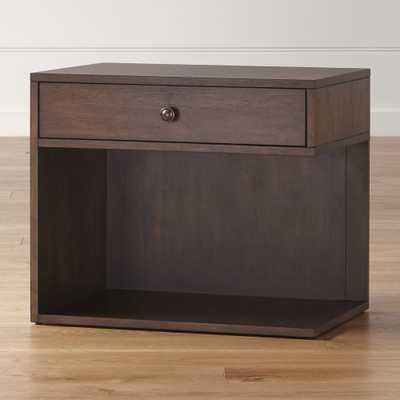 Hayden Left Nightstand - Crate and Barrel