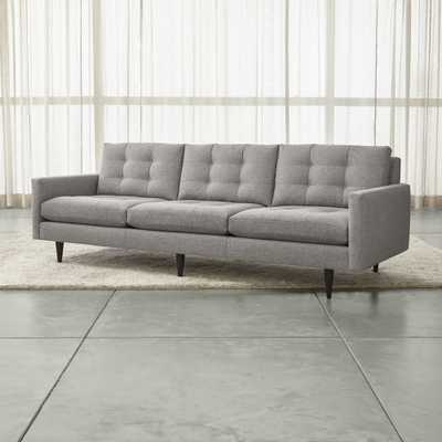 "Petrie 100"" Grande Sofa - Crate and Barrel"