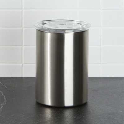 Airscape Coffee Canister - Crate and Barrel