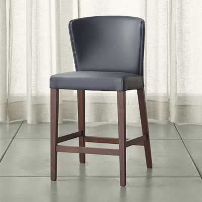 Curran Grey Counter Stool - Crate and Barrel