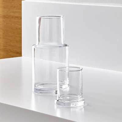 Clear Glass Carafe - Crate and Barrel