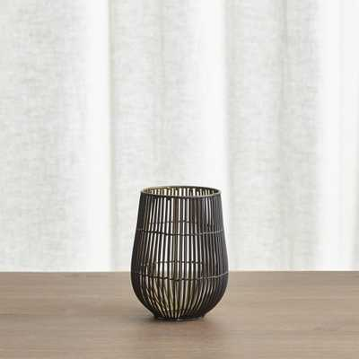 Kent Wire Small Hurricane Candle Holder - Crate and Barrel