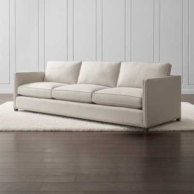 """Dryden 3-Seat 103"""" Grande Sofa with Nailheads - Crate and Barrel"""