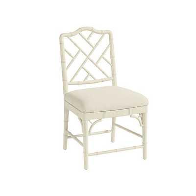 Set of 2 Dayna Side Chairs - Rubbed Cream - Ballard Designs