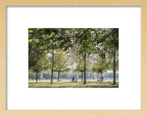 """Versaille by Sivan Askayo, Natural Wood, 14""""x10"""" - Artfully Walls"""