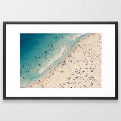 """Beach love V Art Print - 26"""" x 38"""" - Society6"""