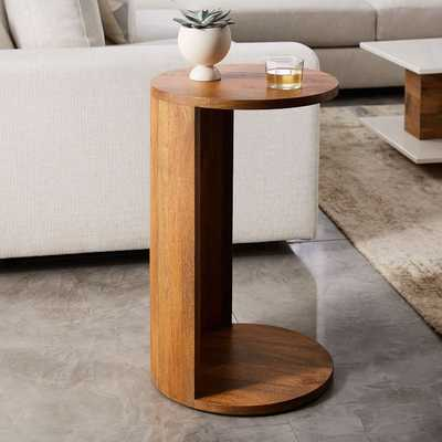 Abrigo C-Side Table, Agave - West Elm
