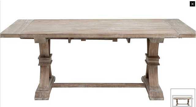 Archer Large Extending Dining Table - Rectangular - Z Gallerie