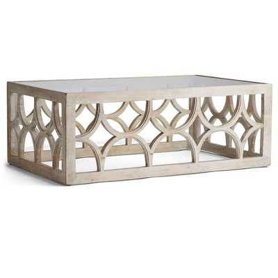 LIME WASH COFFEE TABLE - Wisteria
