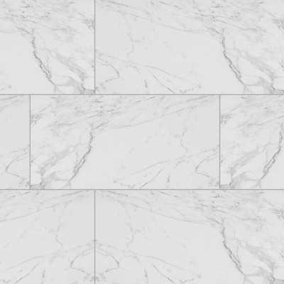 """Carrara 12"""" x 24"""" Porcelain Field Tile in White - AllModern"""