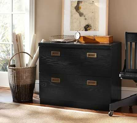 REYNOLDS 2-DRAWER LATERAL FILE CABINET - Pottery Barn