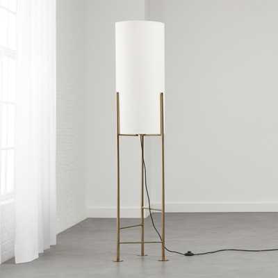 Haus White Floor Lamp - CB2