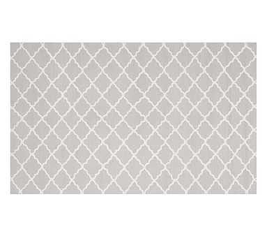 Addison Rug, 5x8 ft Gray - Pottery Barn Kids
