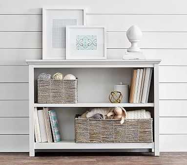 Cameron 2 Shelf Bookcase, White - Pottery Barn Kids