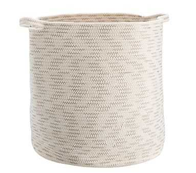 Sloane Cotton Rope Toy Dump - Natural - Pottery Barn Kids
