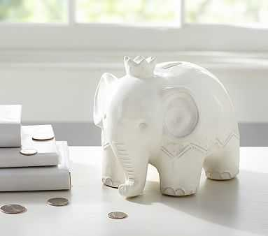 Elephant Bank - Pottery Barn Kids