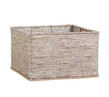 Silver Rope Basket Large - Pottery Barn Kids