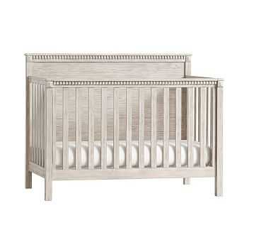 Rory 4-In-1 Convertible Crib, Weathered White - Pottery Barn Kids
