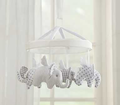 Flying Elephant Mobile - Pottery Barn Kids