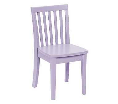 Carolina Kid Chair, Soft Lavender - Pottery Barn Kids