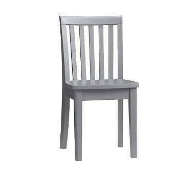 Carolina Kid Chair, Charcoal - Pottery Barn Kids