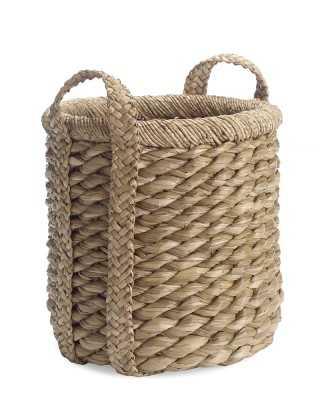 Higbee Round Basket, Small - Williams Sonoma