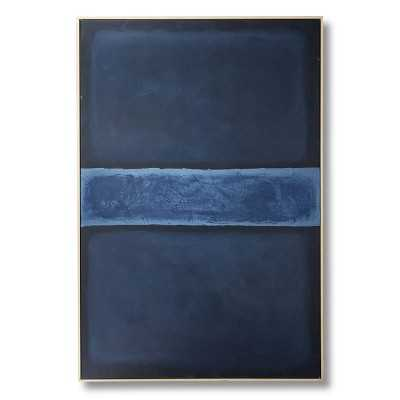 Navy Abstract - Williams Sonoma