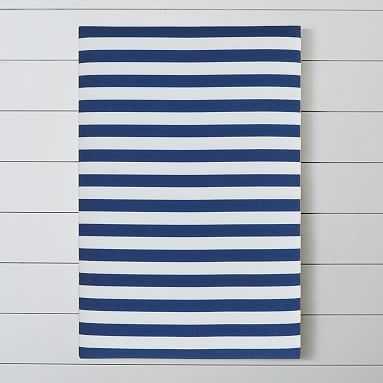 Stripe Pin-It Pinboard, Navy - Pottery Barn Teen