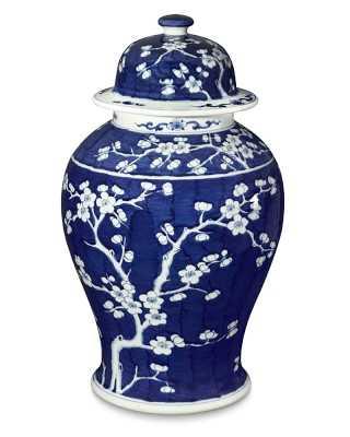 Cherry Blossom Lidded Ginger Jar, Large - Williams Sonoma