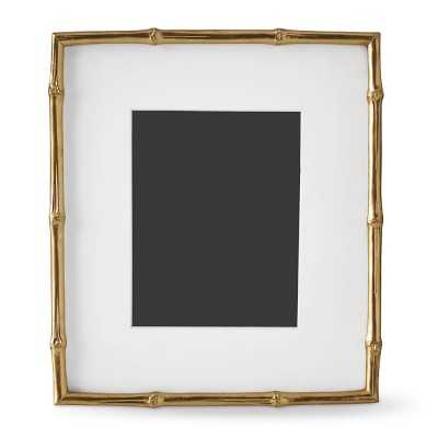 "AERIN Gilded Bamboo Gallery Frame, 8"" X 10"" - Williams Sonoma"