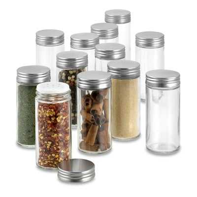 Extra Spice Jar Replacements, Set of 12 - Williams Sonoma