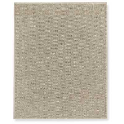 "Canyon Sisal Rug, 5x7', Limestone, Oatmeal 1.5"" Linen Binding - Williams Sonoma"
