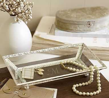 Antique Silver Jewelery Display Tray - Pottery Barn