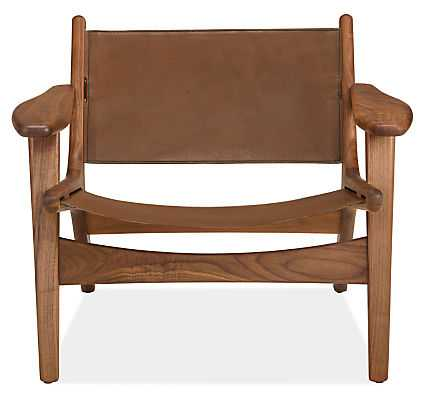 Lars Leather Lounge Chair - Room & Board