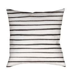 Stripes WRAN-005 - 18 x 18 - Neva Home
