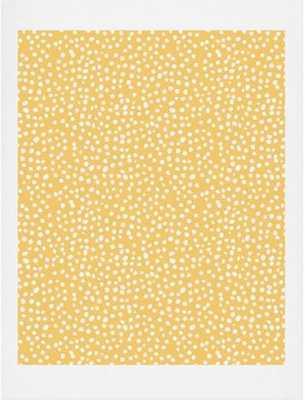 Dots in Orange - art print - Wander Print Co.