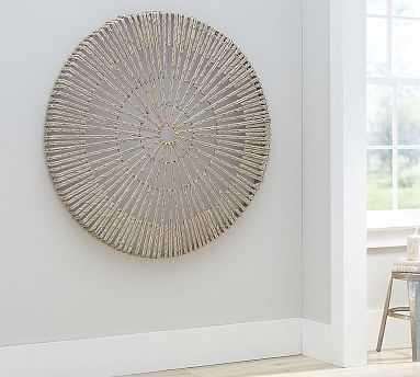 Woven Wheel Wall Art - Pottery Barn