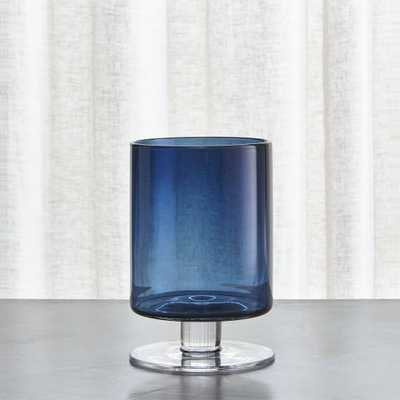 London Small Blue Hurricane - Crate and Barrel - Crate and Barrel