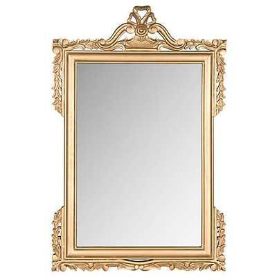 Kaufman Oversize Mirror, Gold - One Kings Lane