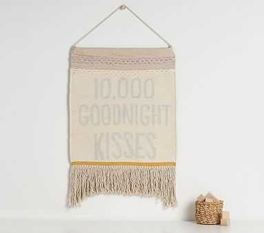 10,000 Goodnight Kisses Tapestry - Pottery Barn Kids
