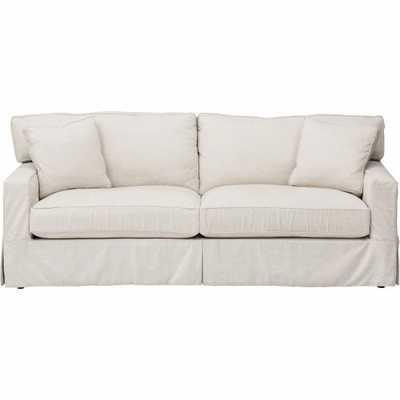 Parker Slipcover Sofa, Dyno White - High Fashion Home
