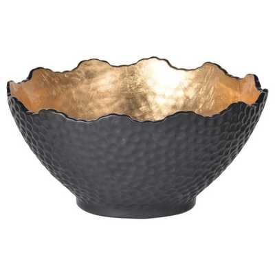 Decorative Bowl - Black/Gold - Target