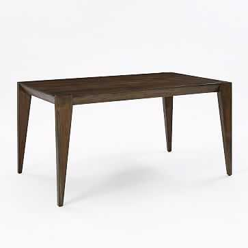 "Anderson Dining Table 60"" Acacia, Carob - West Elm"