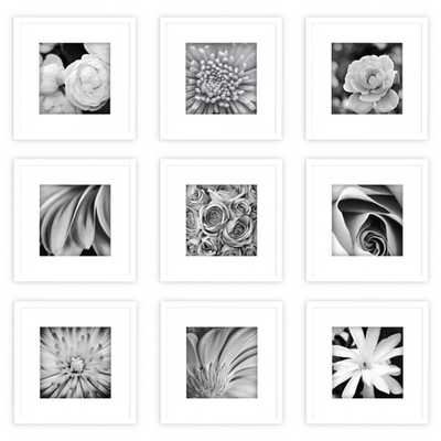 Gallery Perfect 9 Piece White Frame Kit - Target