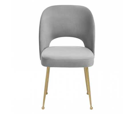Alani Light Morgan Velvet Chair - Maren Home