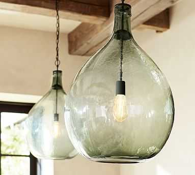 Clift Seeded Glass Pendant - Pottery Barn