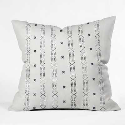 "MALA Throw Pillow - 20"" x 20"" - with poly fill - Wander Print Co."