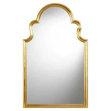 Arch Mirror, Gold - Pottery Barn Teen