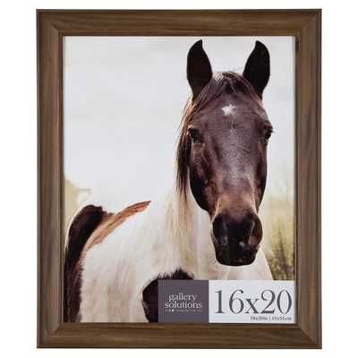16X20 Walnut Large Wall Frame - Gallery Perfect - Target