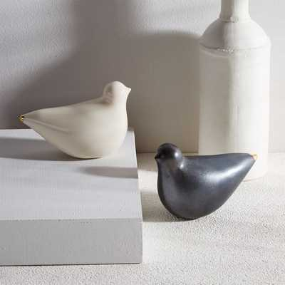Honeycomb Studio Porcelain Turtle Doves - West Elm